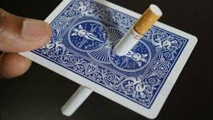 אמן חושים לאירוע רון גליקסמן קלף סיגריה