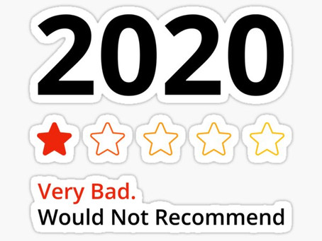 Reflections on 2020.  And Bye Bye Bye
