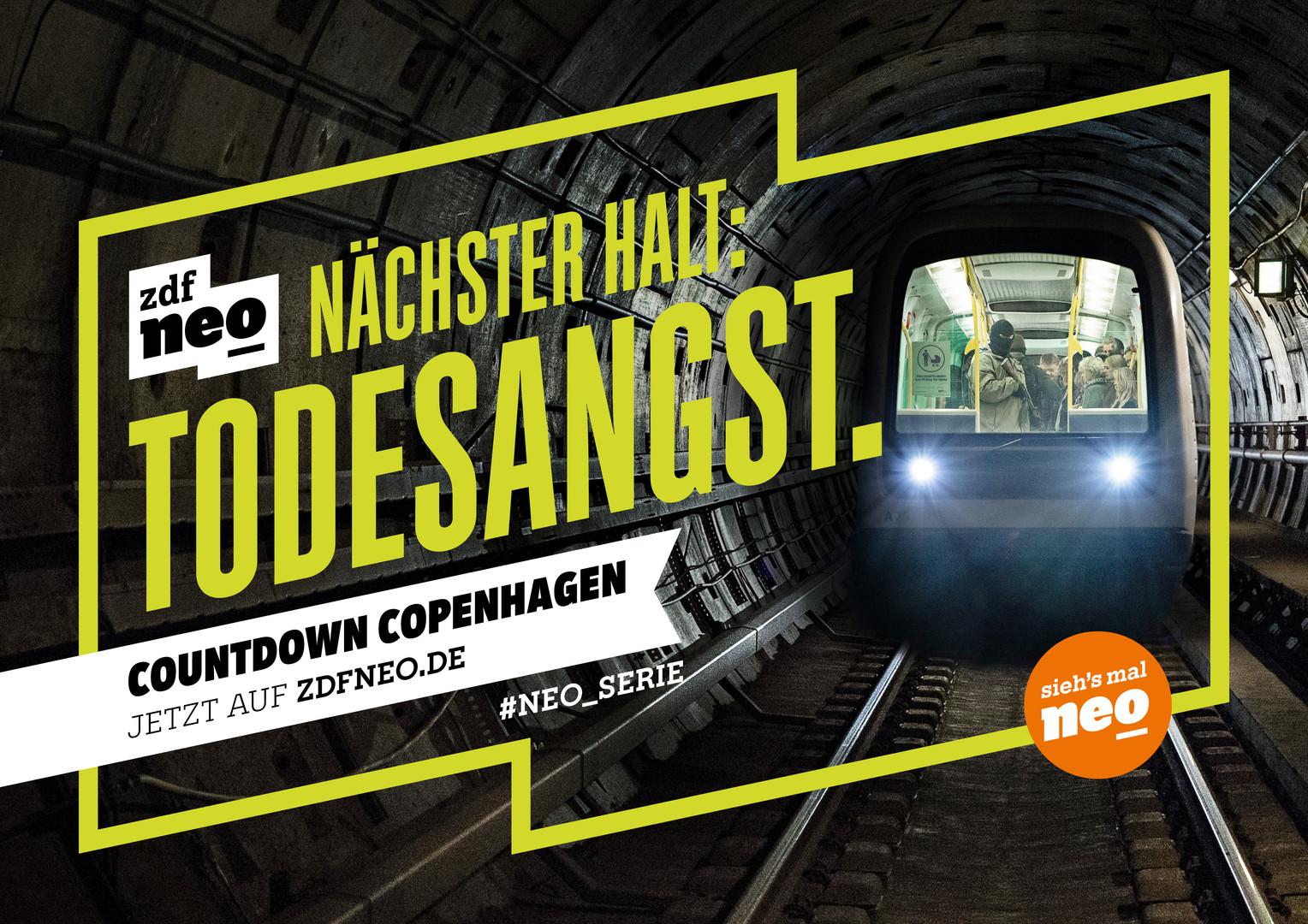 About a terrorist attack in a tube in Copenhagen.