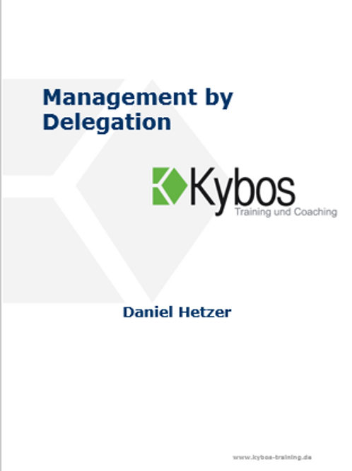 E-Book: Management by Delegation
