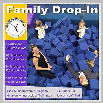 Kingston Gymnastics Club Family Drop In