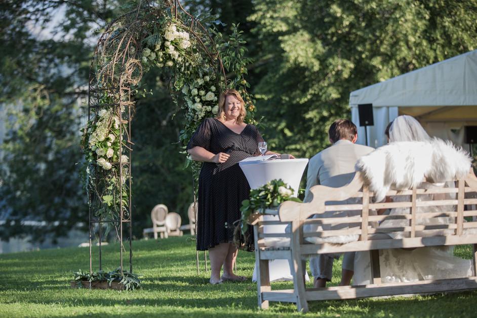 Heiraten im eigenen Garten