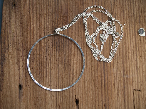 Classic Circle Long Necklace