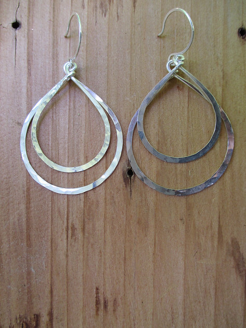 Medium Double Goddess Teardrop