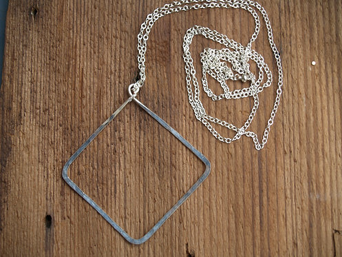 Hip Diamond Long Necklace