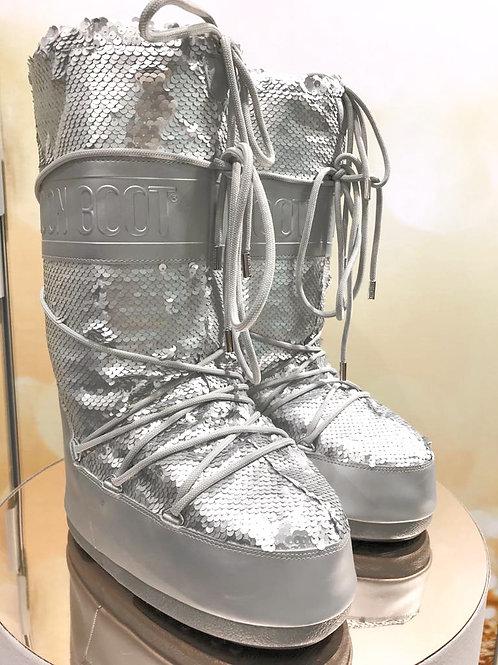 Moon Boot Silber