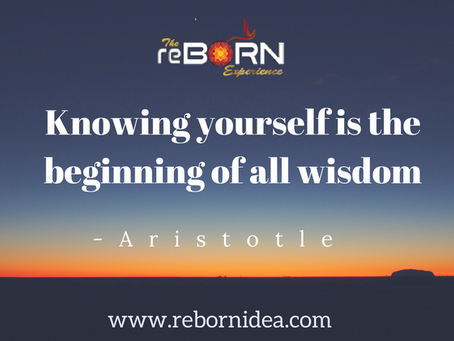 """Knowing yourself is the beginning of all wisdom"""