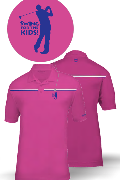 Swing for the Kids Lady Dry Fit Shirt (UnoGolf)