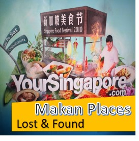 Makan Delights Lost & Found