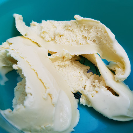Elder Flower Ice Cream