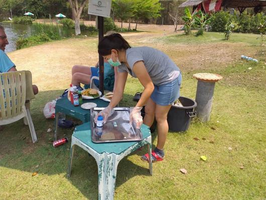Fishing at Greenfield Valley Fishing Resort, Hua Hin, Thailand