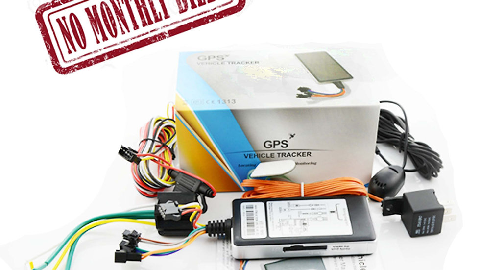 GPS vehicle traker (no monthly bill)