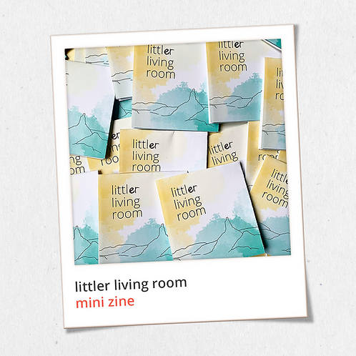 littler living room: mini zine