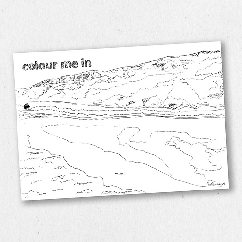 issue one: colour me in