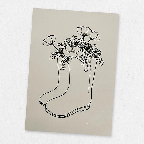welly vase