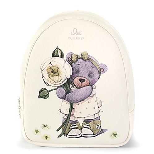 """Рюкзак Я+я #131 """"Белый лютик"""" (размер S )"""