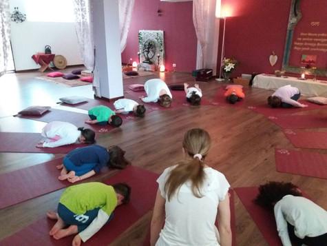 Sabato 10 Febbraio - Appuntamento Yoga Bambini