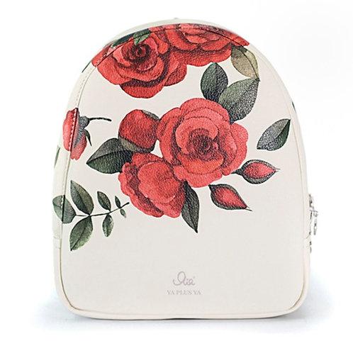 """Рюкзак Я+я #219 """"Алые розы"""" размер L"""