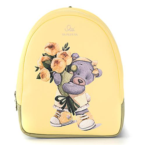 """Рюкзак Я+я #143 """"Золотые розы"""" размер S"""