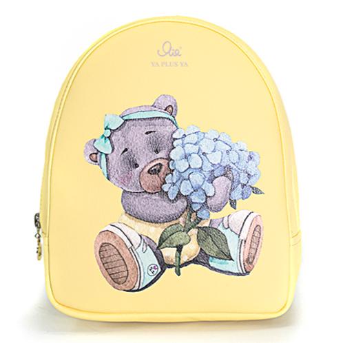 """Рюкзак Я+я #135 """"Голубые лепестки"""" размер S"""