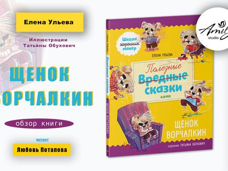 """Щенок Ворчалкин"". Обзор книги"