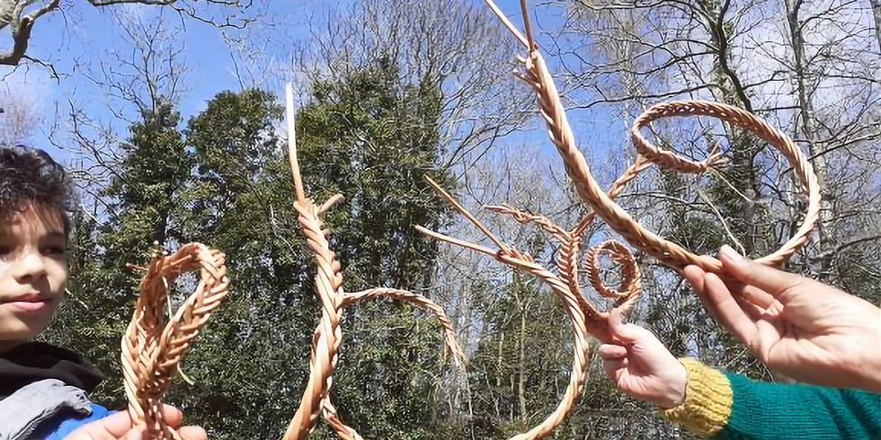How to Weave a Willow Snail .....Slowly ;)