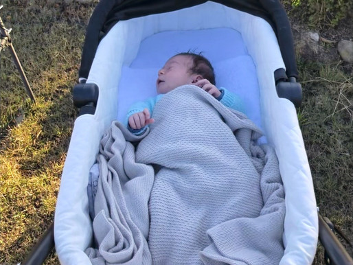 Getting out and about with your newborn