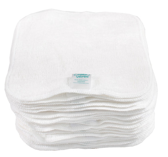 Bamboo Velour Wipes 25 pack