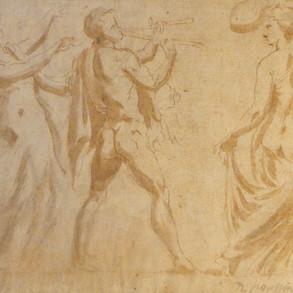 Etude française du XVIIe siècle