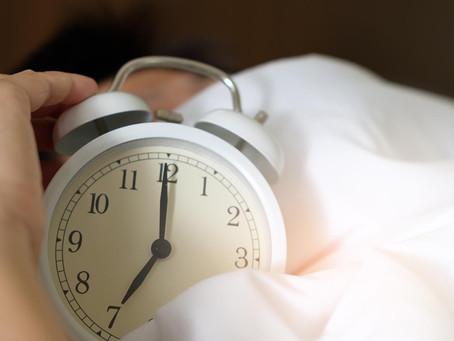 Fall Back On Healthy Sleep Habits