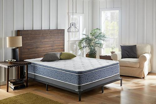 12 inch plush pillowtop hybrid mattress