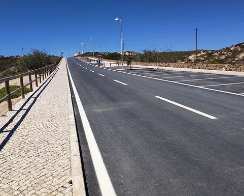 Marginal de Milfontes já reabriu ao trânsito