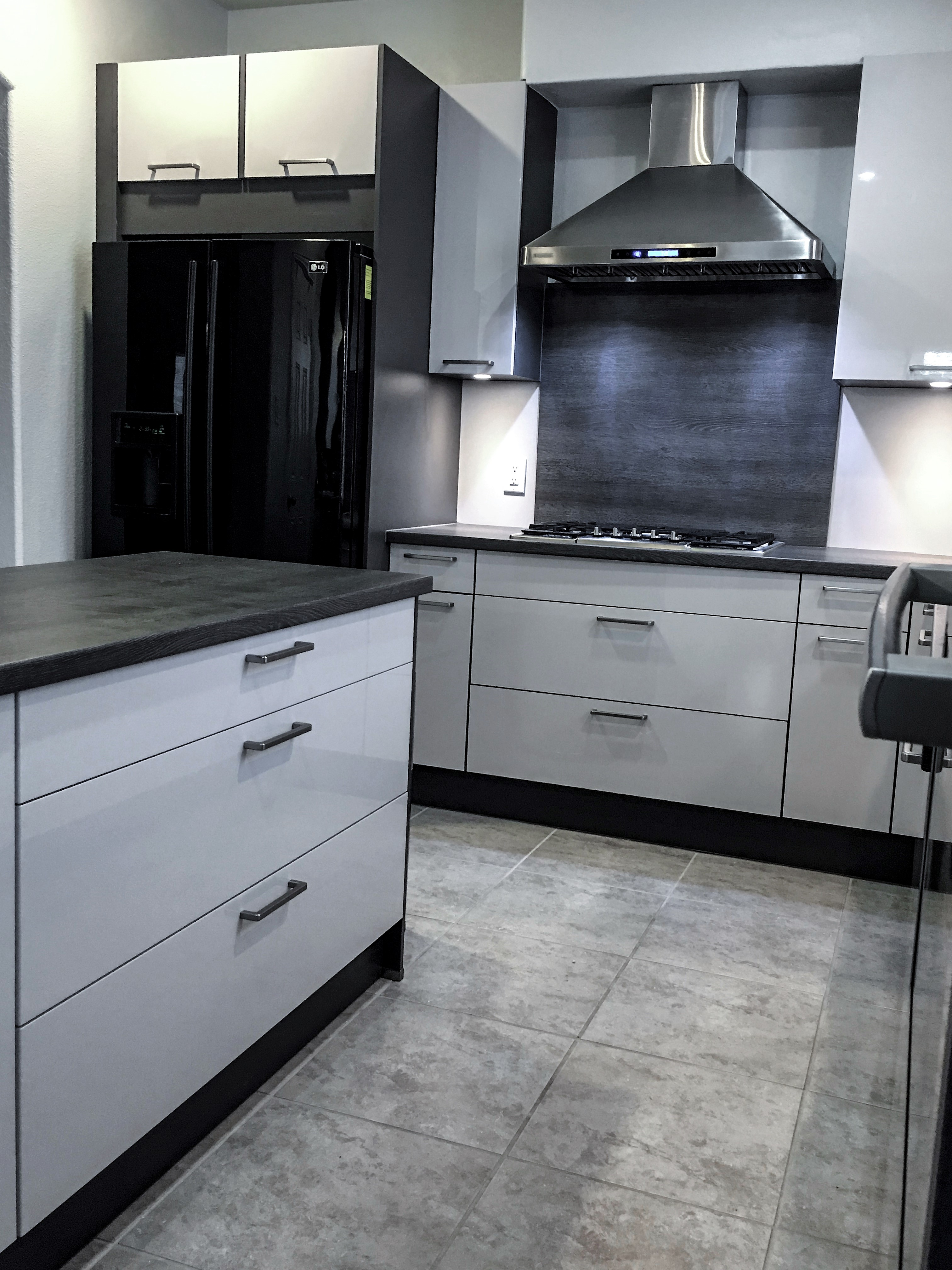 modern, high gloss  kitchen, Houston