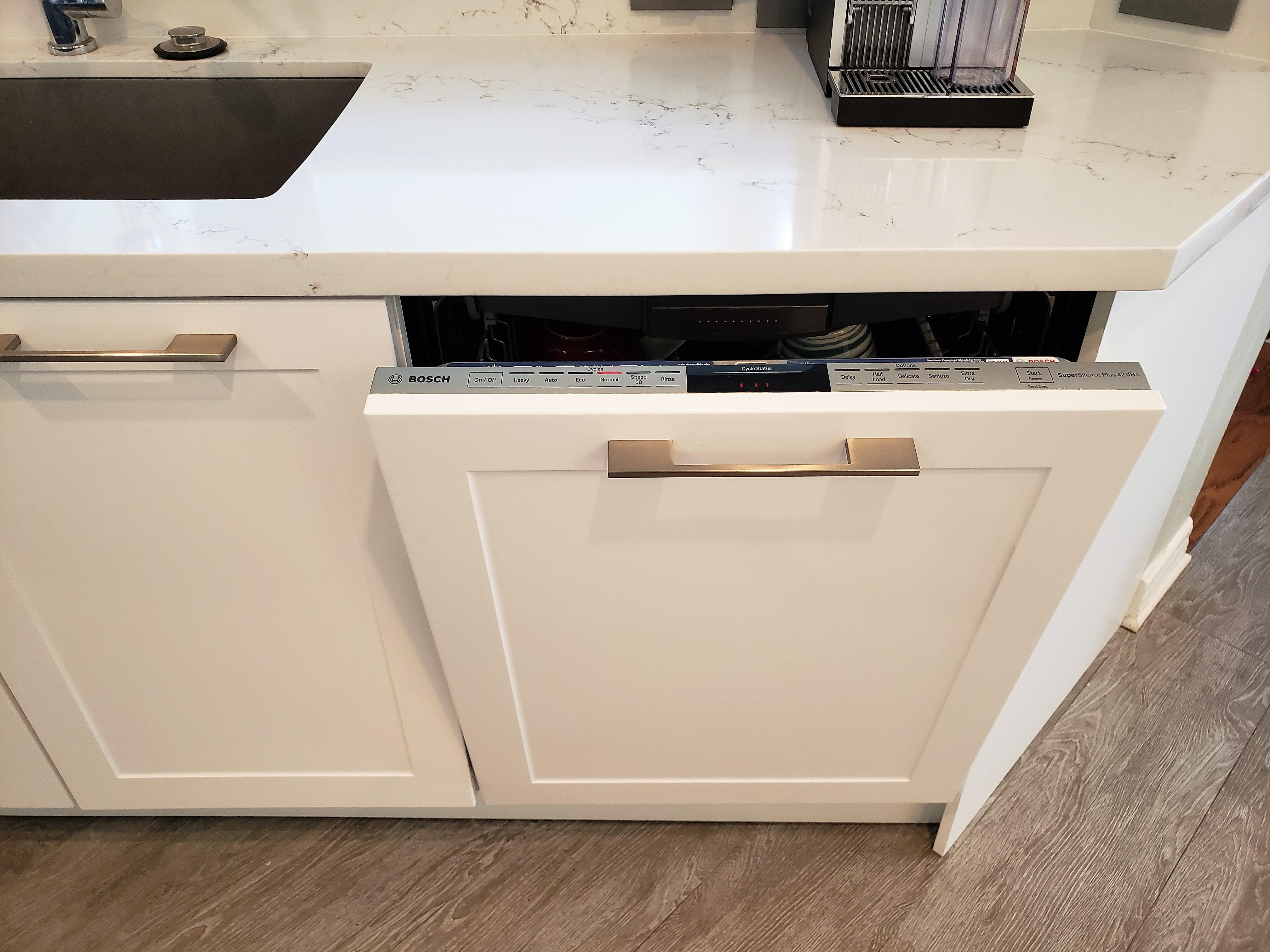 Dishwasher panel for kitchens, Katy