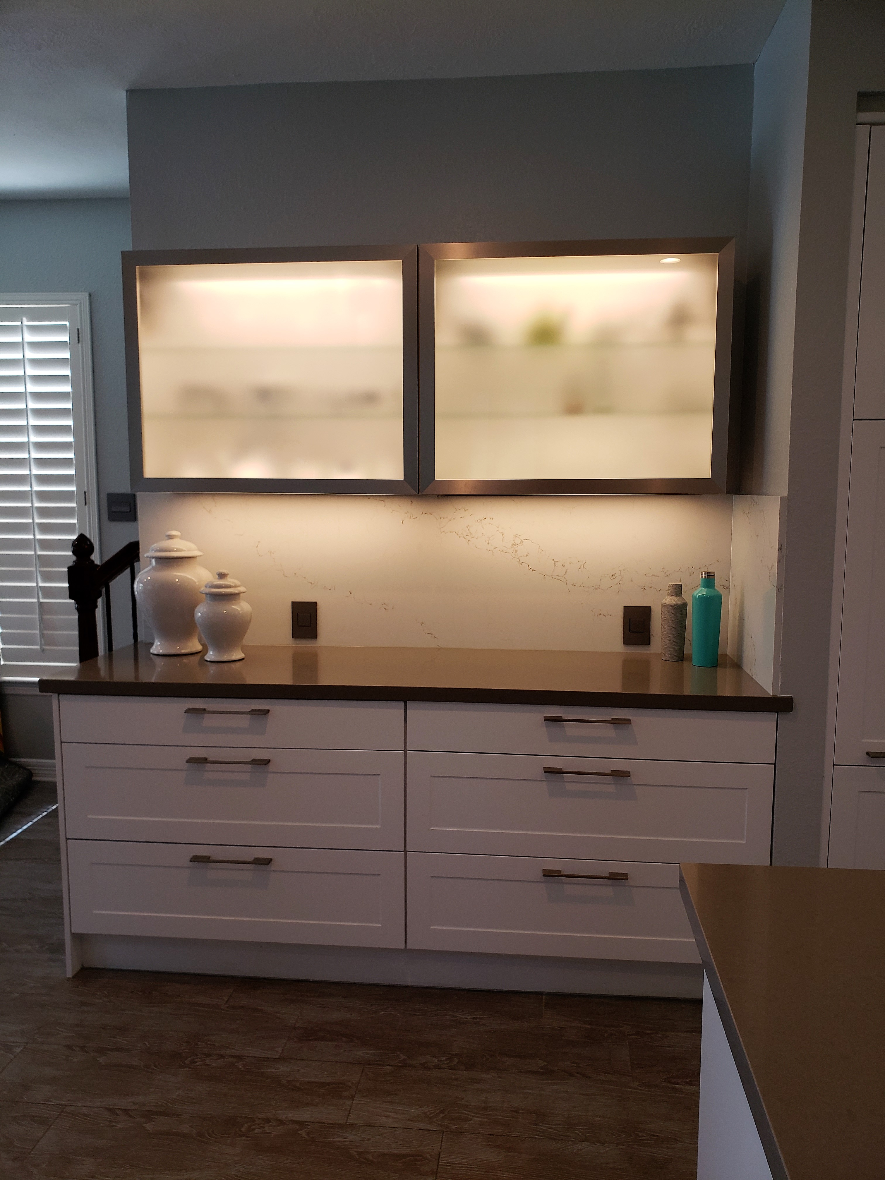European kitchen, Katy/Texas