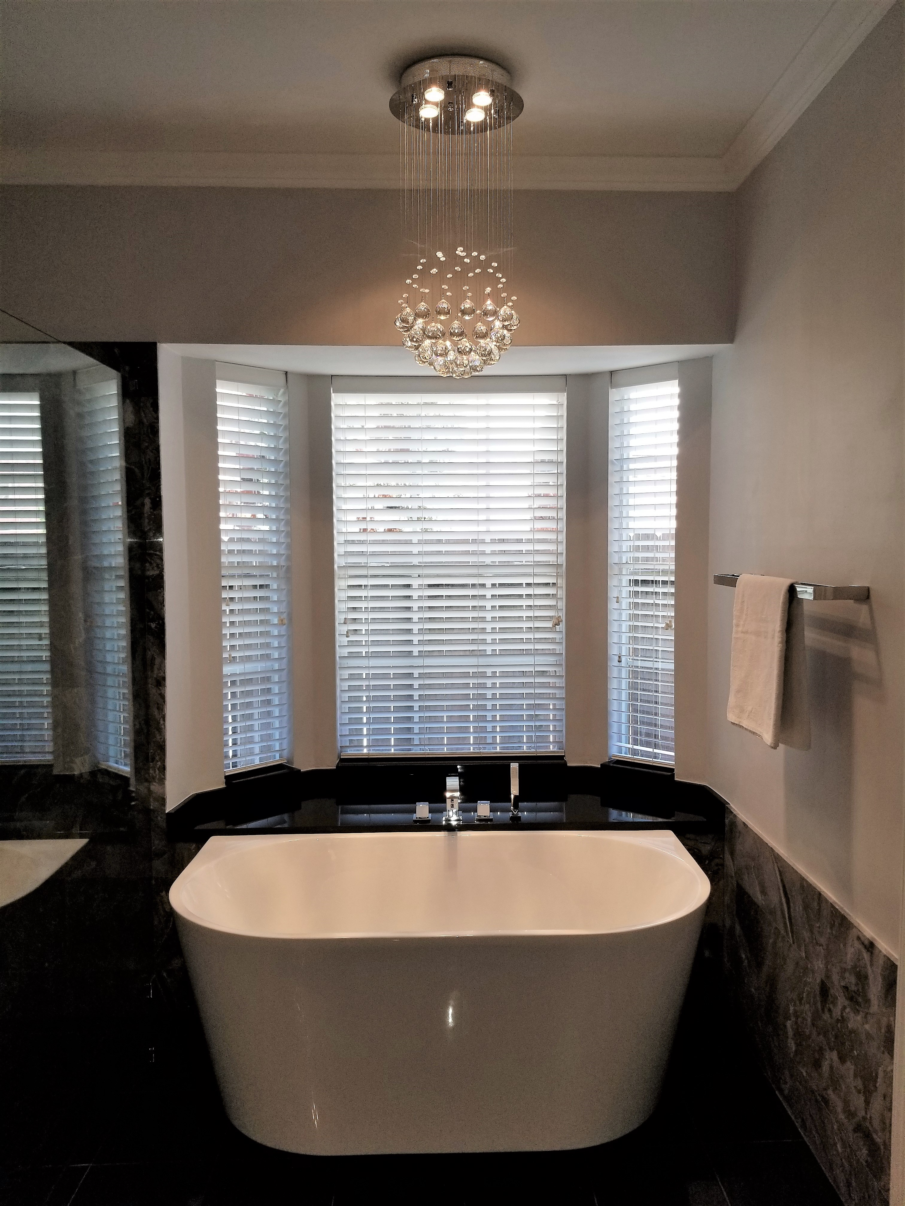 Black and White Master Bath Remodel