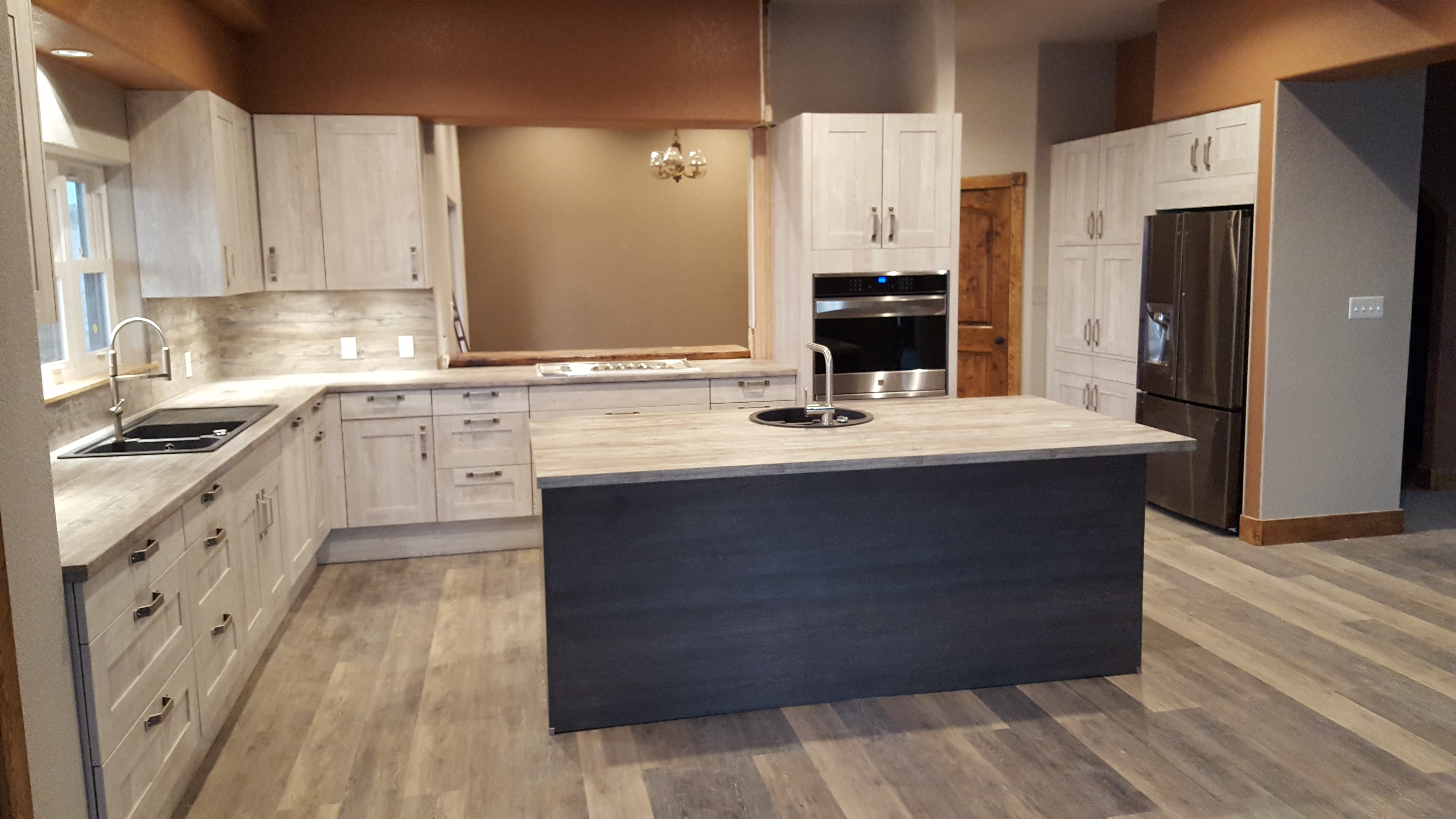 Transitional texan kitchen