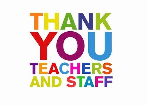 Teacher/Staff Appreciation Fund