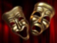 theatre-happy-sad-masks-3d-model-low-pol