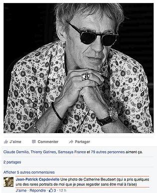 Jean-Patrick Capdevielle par Catherine Beudaert Photographe