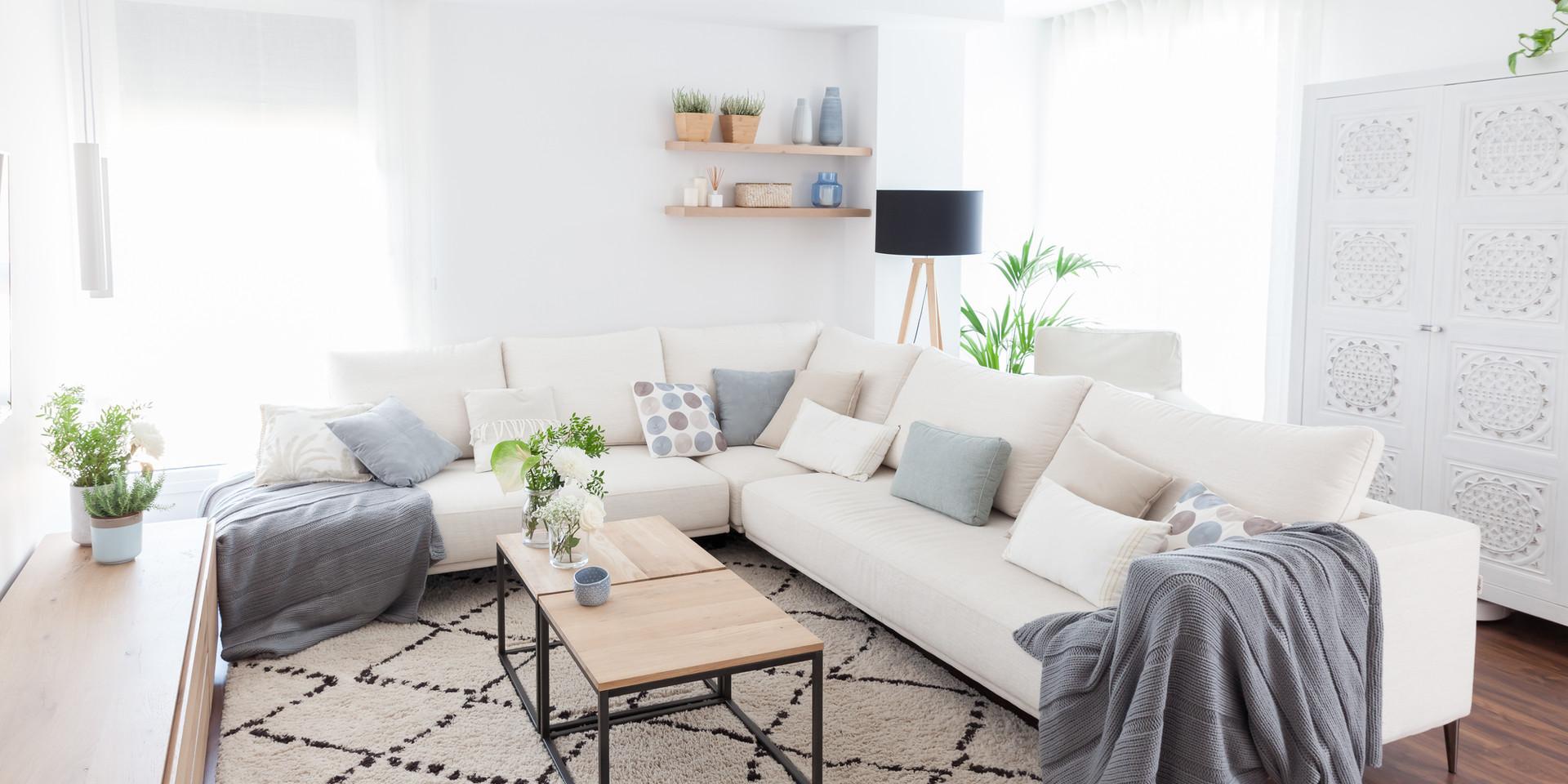 Un salón para vivir