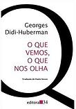 capa Georges Didi- Huberman - o que vemo