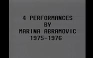 Marina Abramovic - Four Performances (19