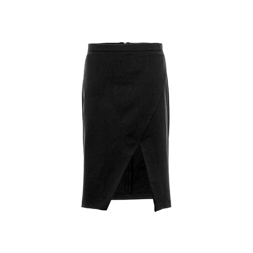 Asymmetrical Midi skirt