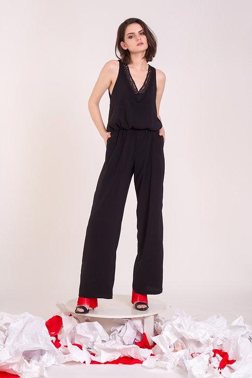 Black R01 Jumpsuit