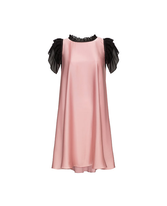 Pink Jewelry Dress