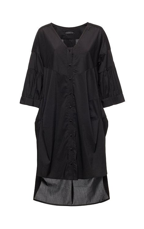 Black Boyfriend shirt Dress