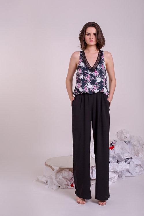 Black Print R01 Jumpsuit