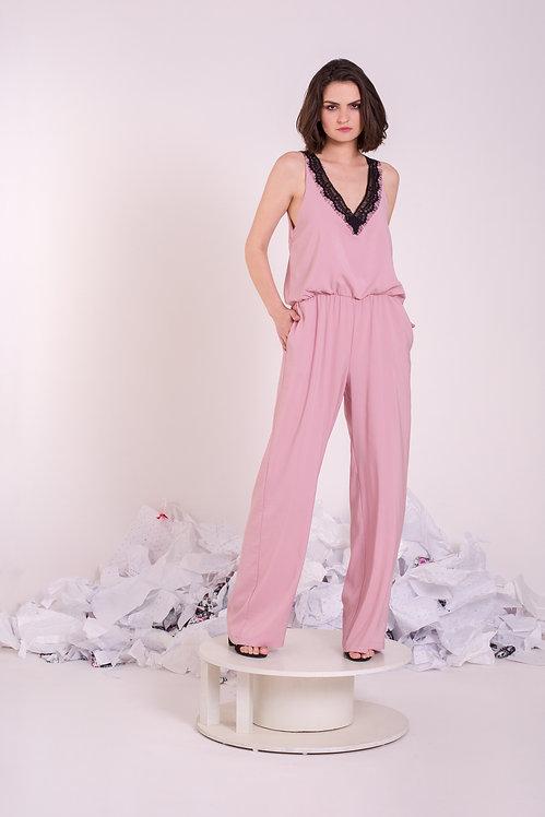 Pink R01 Jumpsuit