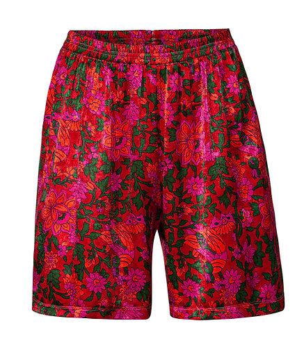 Flower Loose Shorts